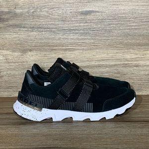 NEW Sorel Kinetic Lite Strap Natural Black Sneaker